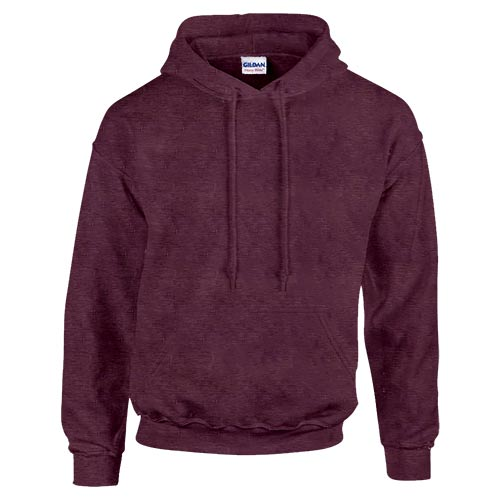 Heather Maroon Front