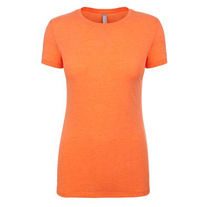 Neon Heather Orange Front